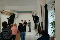 Impressionen Fotoshooting Studio