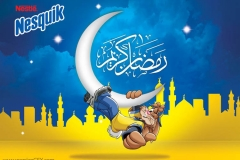Nesquik Ramadan Advertising by Hossamahmed