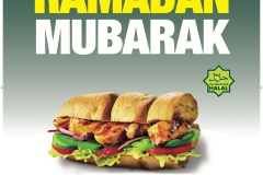 Subway Ramadan Advertising